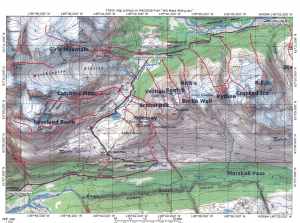 VAC Run Map Thompson Pass